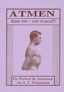 Richtig-ATMEN-Lungentraining-Atemkultur-Tiefatmung-Atemgymnastik-Reprint