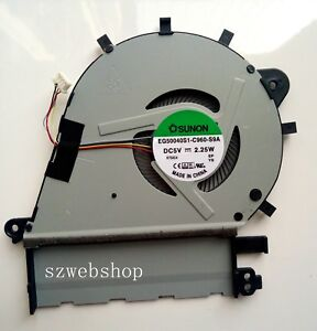Details about New for Asus ZenBook UX430 UX43 laptop CPU cooling fan 4pins  EG50040S1-C960-S9A