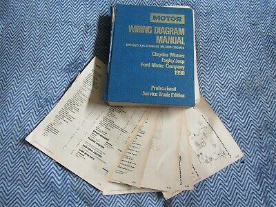 1990 PLYMOUTH ACCLAIM CHRYSLER LEBARON DODGE SPIRIT WIRING ...