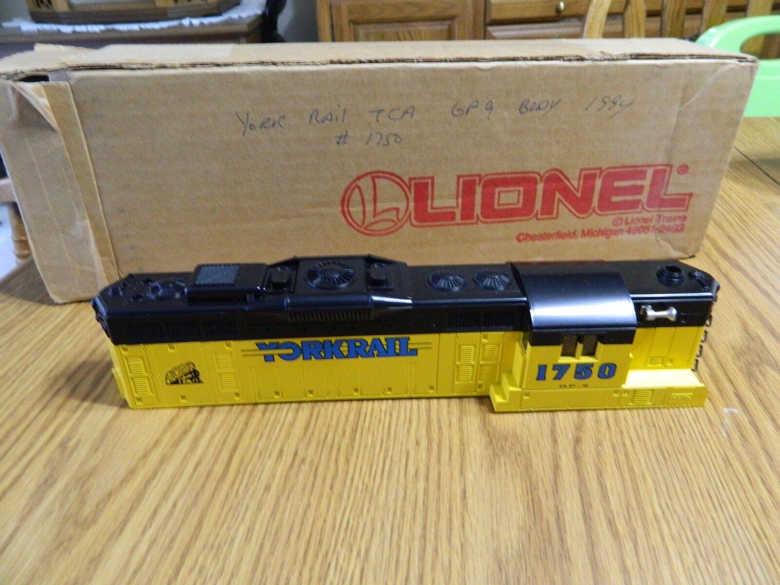Lionel TCA Locomotive Shell 0 Scale - NEW