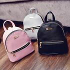 Mochilas de cuero de las mujeres Mini bolsos del recorrido Bolso de escuela