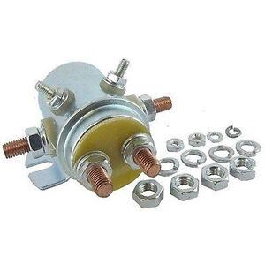 New Starter Solenoid Relay Switch Winch Motor 12v 6