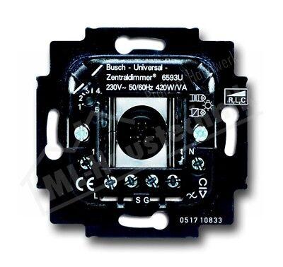 Busch-Jaeger EIB KNX Busch-Powernet Universal Zentraldimmer 6593-102 500W//VA