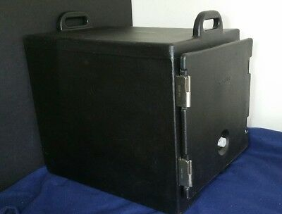 Cambro Insulated Front Loading 300MPC Food Storage Pan Carrier Black 300 MPC