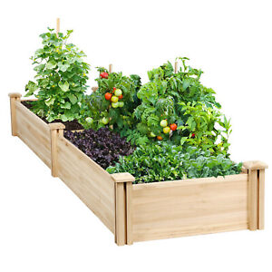 Raised Elevated Garden Bed Kit Planter Box For Vegetables Outdoor
