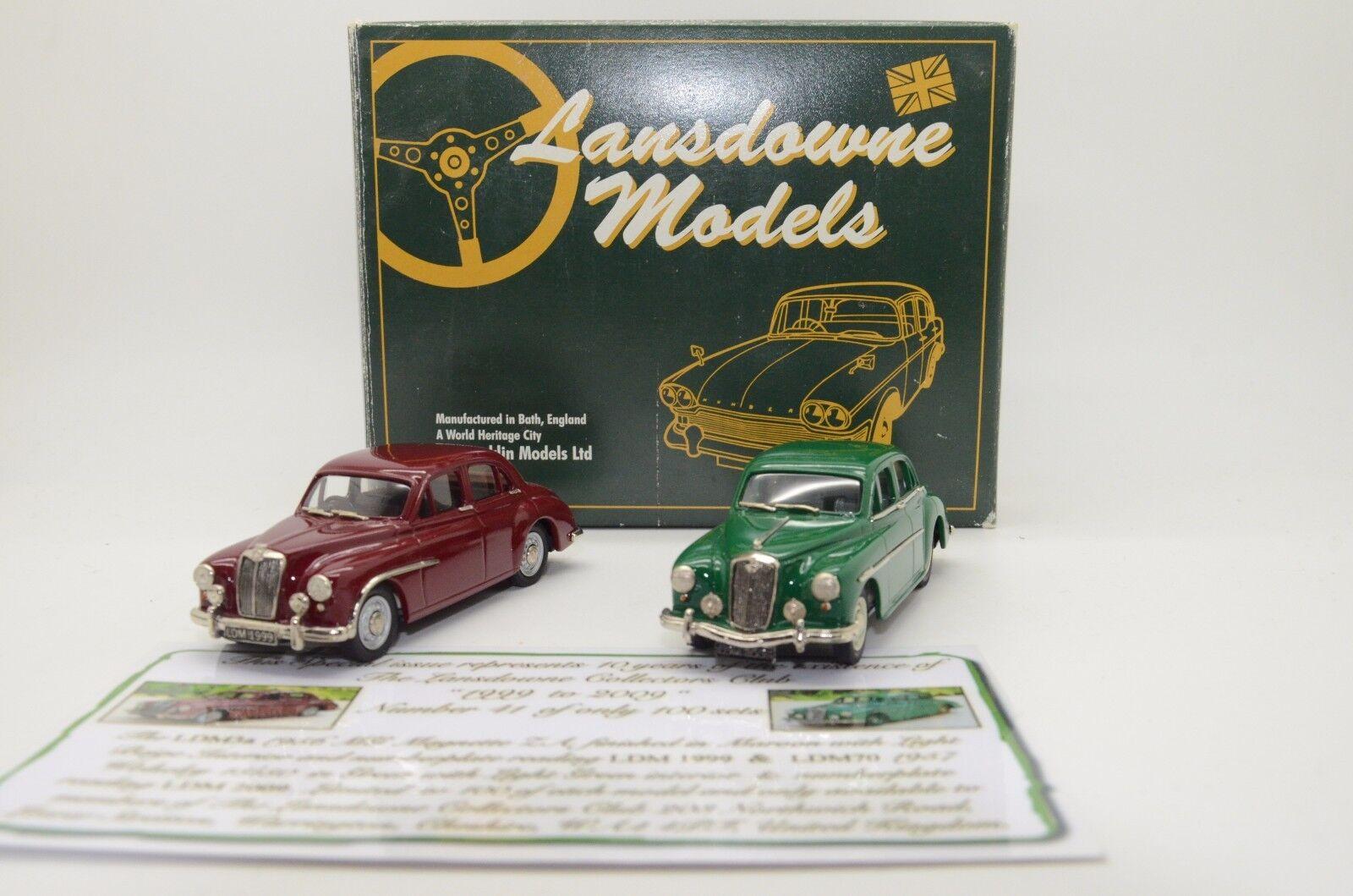 Mega RARE   MG Magnette ZA LDM 3 & Wolseley LDM 70 Brooklin Lansdowne 1 43