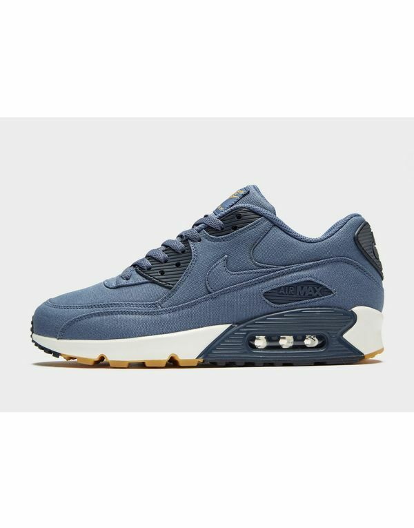 Nike Air Max 90 Textile Men's Trainers() blueee Colour Brand New