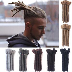 Details Zu 615cm Kurze Herren Dreadlocks Synthetische Crochet Dreads Locs Punk Stil Braid