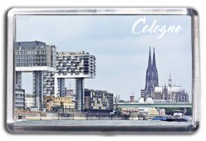 Cologne Famous City Fridge Magnet Collectable Design Germany Deutschland