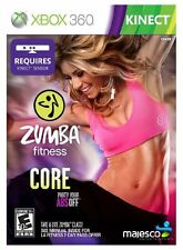 Zumba Fitness Core for XBOX 360 System Brand New Factory Sealed !