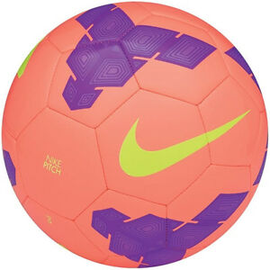 No hagas Oficial conferencia  Nike T90 Total 90 Pitch Soccer Ball 2014 Brand New Coral - Purple - Volt    eBay