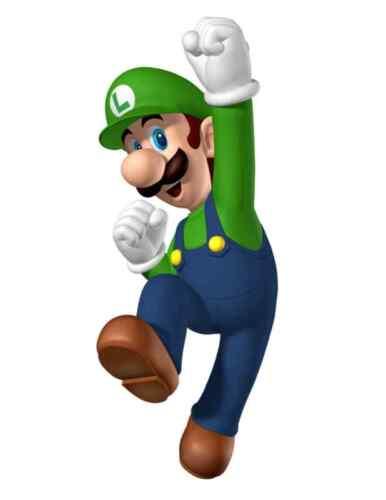 """Super Mario Luigi Vinyl Sticker Decal 6/"""" full color"""