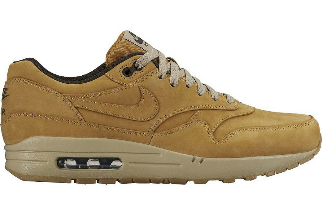 NIKE AIR MAX 1 LTR LEATHER PREMIUM BRONZE WHEAT Gr.40-45 705282-700 deluxe 90