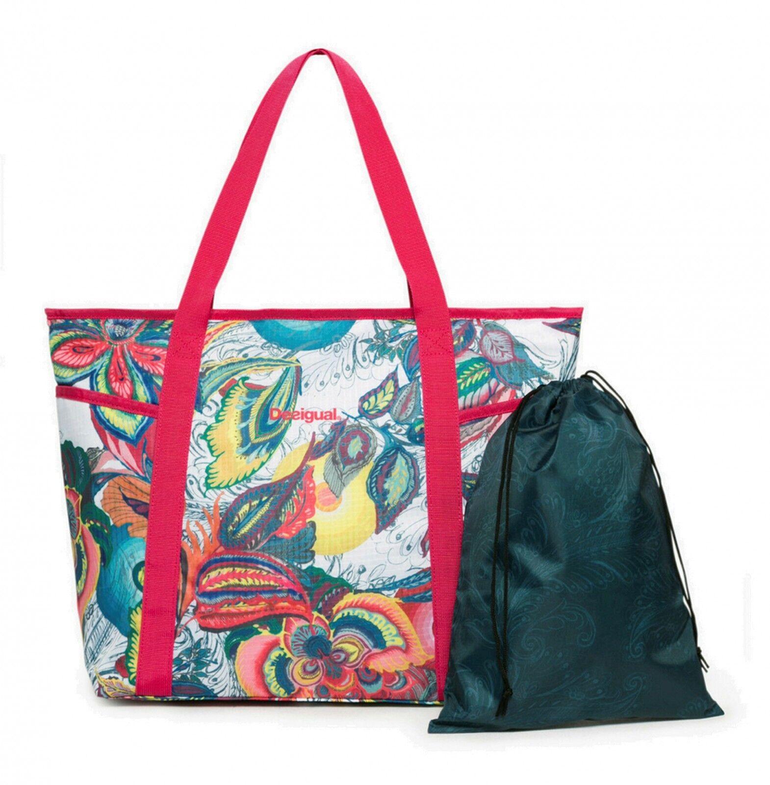Desigual Sports Bag Galactic Bloom Carryall