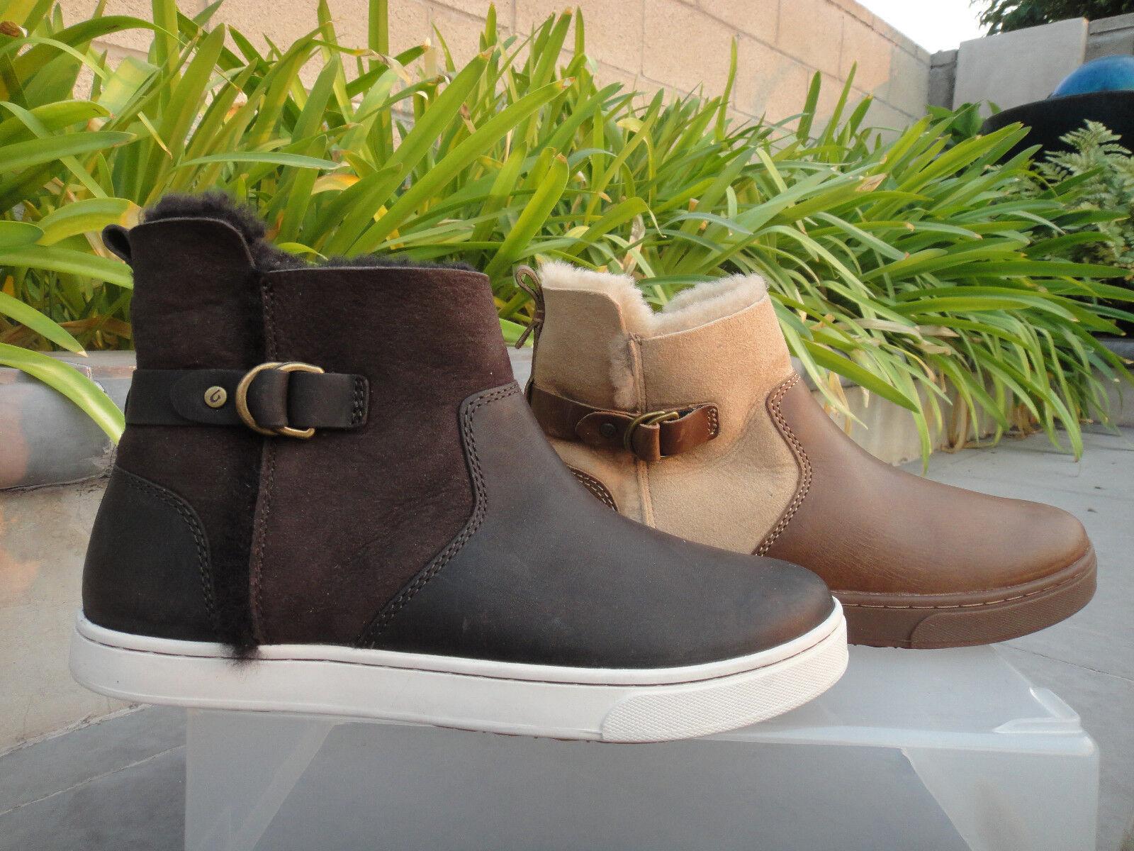 OluKai PEHUEA HULU  Genuine Shearling scarpe da ginnastica avvio, oroen Sand o Dark Java, 7M  risparmiare sulla liquidazione