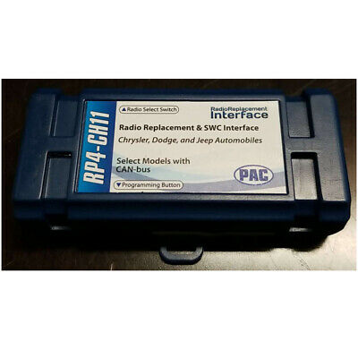 R For Select Chrysler Pac Rp4-Ch11 Radiopro4 Interface Vehicles With Can Bus