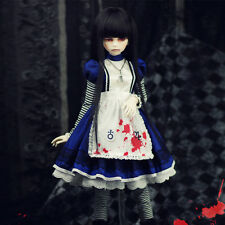 【1/3 1/4】#034 Crazy Alice B 3pcs/set Outfits/Lace/Clothes BJD SD