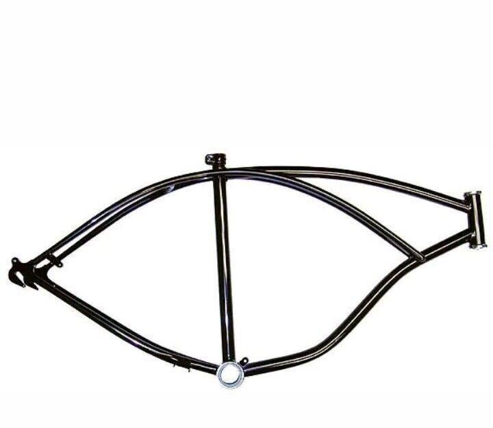 Nuevo Negro 26  Marco de Bicicleta PLAYA CRUCERO LOWRIDER Bicicletas Chopper