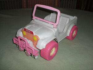 barbie auto weiß