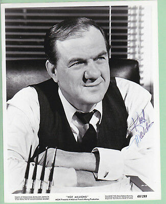 Karl Malden Signed Autographed Black & White Photo, The Melchior Collection