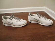 super popular b6320 a3a0c item 2 Used Worn Size 10.5 Nike Cortez Basic Leather TPU Swoosh Shoes White  Gray Silver -Used Worn Size 10.5 Nike Cortez Basic Leather TPU Swoosh Shoes  ...
