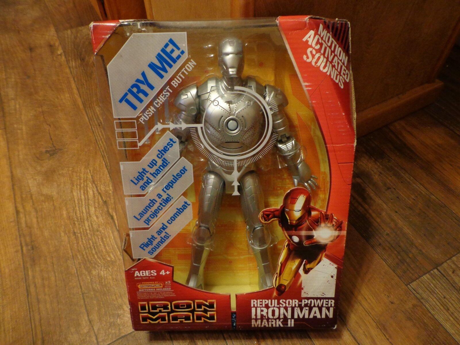 2008 hasbro - iron - 12  repulsor macht  iron man  mark ii (neu)