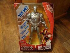 "2008 HASBRO--IRON MAN--12"" REPULSOR POWER IRON MAN MARK II FIGURE (NEW)"