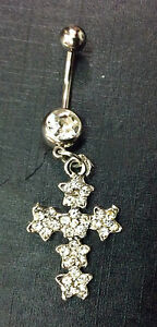 PIERCING-OMBELICO-GIOIELLO-JEWELRY-NAVEL-BELLY-BARS-316L-SURGICAL-STEEL-1-6-MM-O