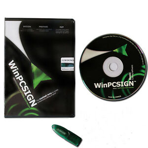 Details about WinPCSIGN 2012 Basic Contour Cut Sign Making Software For  Cutting Plotter Cutter