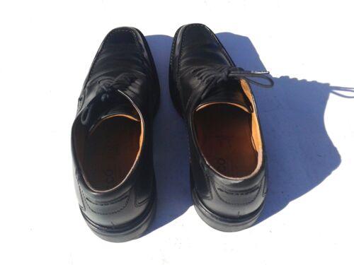 taglia Ecco in 45 pelle scarpe lacci pelle in con oxford nera xBqwPzBR