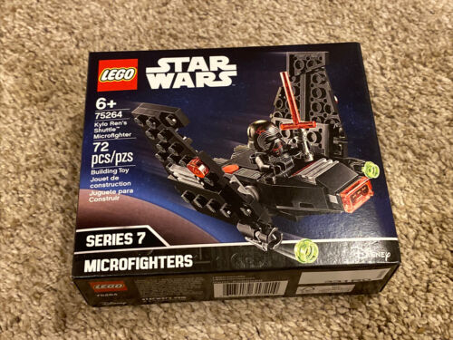LEGO Star Wars Kylo Ren/'s Shuttle Microfighter Building Set Toy 72 Pieces 75264