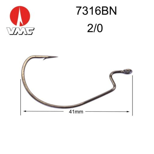 Texan Offset 3.5-4.5-7-9g Fishing Lead Mould  //Weighted Worm Hook weedless hook