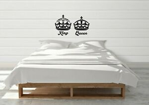 King-And-Queen-Inspired-Design-His-Hers-Royalty-Wall-Art-Decal-Vinyl-Sticker