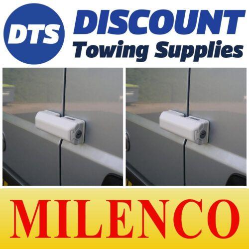 Milenco Peugeot Boxer />2006 Van Door High Security Dead Lock X2 Matched Keys