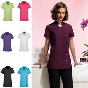 New premier spa beauty salon beautician tunic nail massage for Uniform spa salon