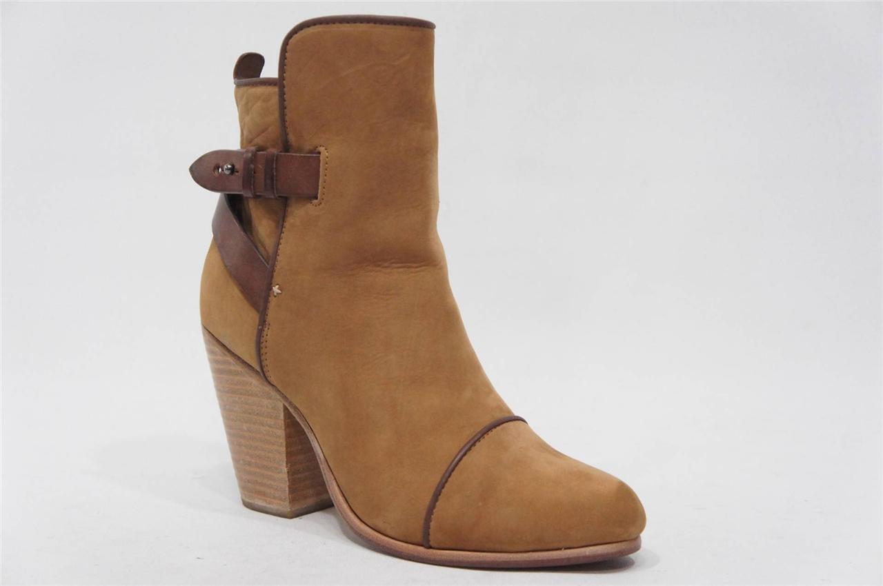 Rag & Bone Kinsey Kinsey Kinsey En Daim Talon Haut Cheville démarrageie Chaussures 38 8  495 ce0eb2