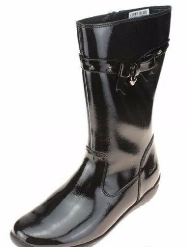 Fit Boot Girls Black 34 Ting Patent 65 Salew 2 G Eu Chic Ch02 Clarks Uk Jnr BqYt7Bw