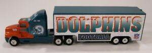 Miami-Dolphins-1999-NFL-Football-Die-Cast-Semi-Truck-by-Whiterose-Collectibles