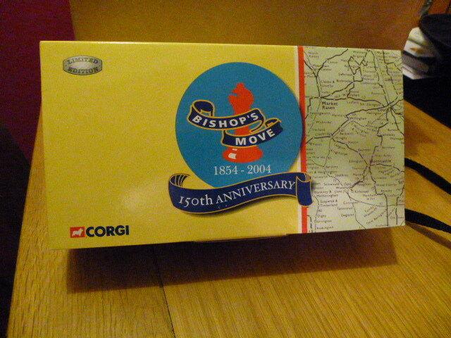 Corgi Classics CC13303 Morris Luton Van BISHOP'S MOVE  150 years  Anniversary
