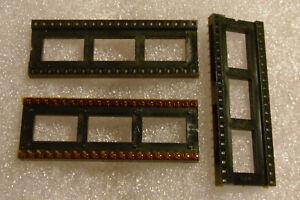 Cambion-40-Pin-DIP-Socket-Gold-Dual-Wipe-Pins-Kynar-Film-Protected