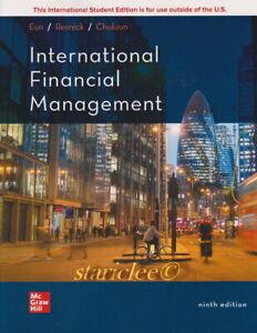 NEW International Financial Management 9E Cheol S. Eun Bruce Resnick 9th Edition