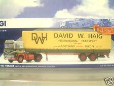 CORGI 1/50 SCANIA 141 CAB & TILT TRAILER DAVID W.HAIG INTL. SCOTLAND CC15308