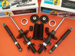 4x-Bilstein-Front-Rear-Shock-Absorbers-set-VW-T5-transporter-V-Dampers-COVERS