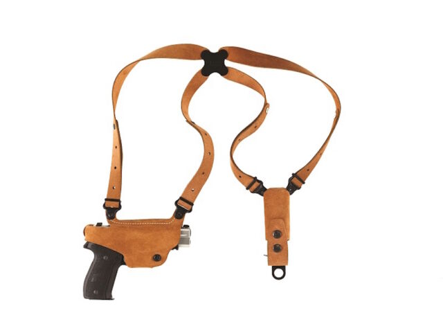 Galco Classic Lite Shoulder Holster, RH Natural S&W : M&P SHIELD 9/40, # CL652