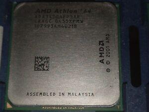 Amd Athlon 64 3400 2 2ghz Ada3400aep5ar Processor L2 1m Socket 754 Ebay