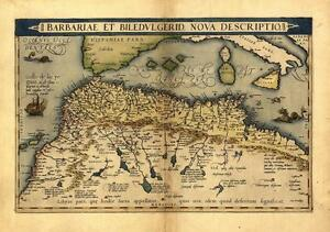 Large a1 north africa morocco tunisia libya egypt old antique map by image is loading large a1 north africa morocco tunisia libya egypt gumiabroncs Choice Image