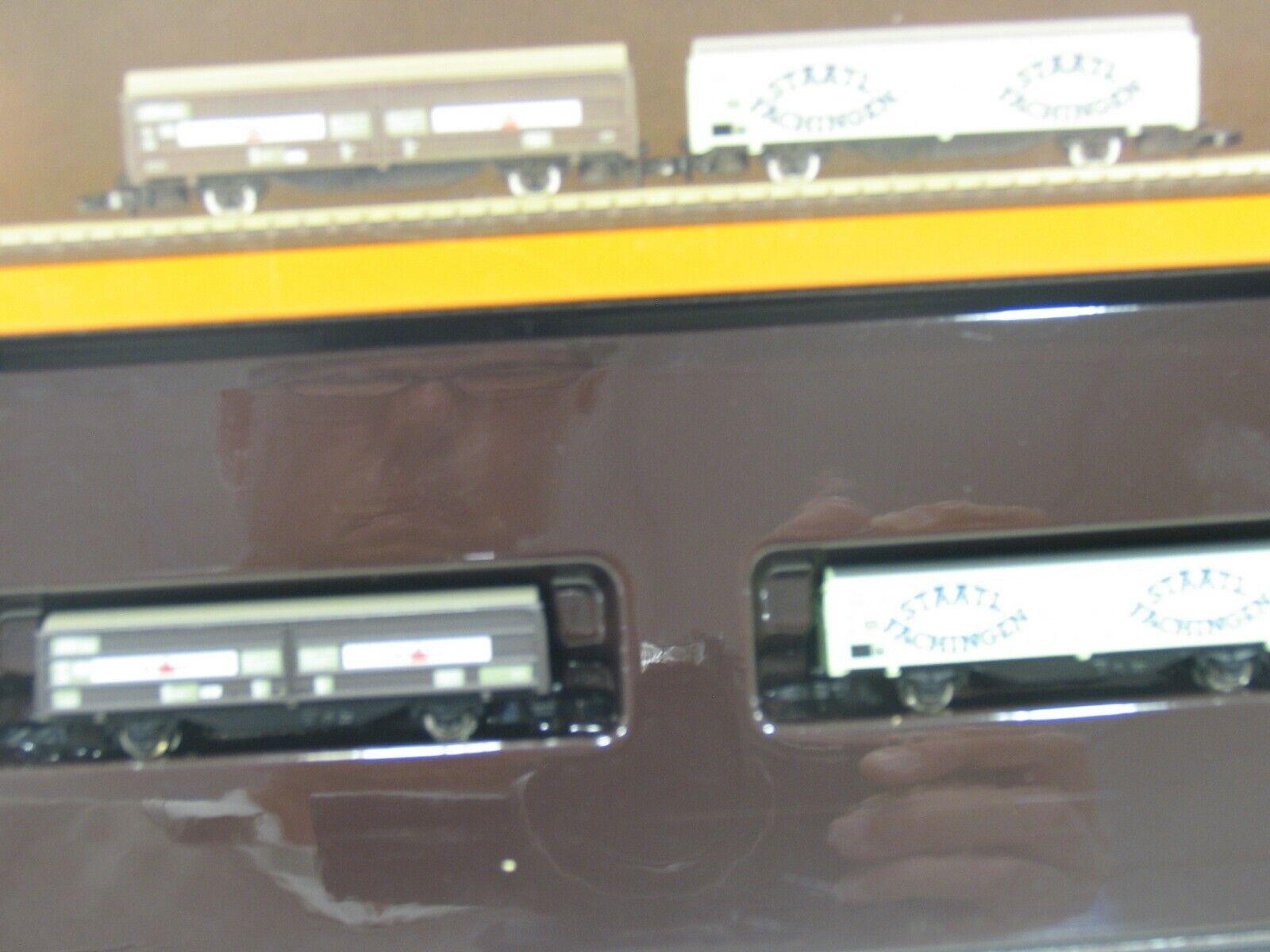 MÄRKLIN 82152 GÜTERWAGEN-SET MINERALWASSER der DB    JS503  | Tragen-wider
