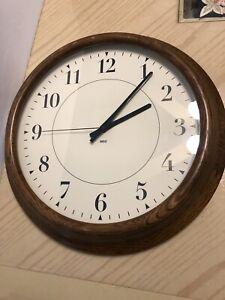 Vintage Martha Stewart Everyday  Large Classic Wall Clock Martha 15Inches (NOB)