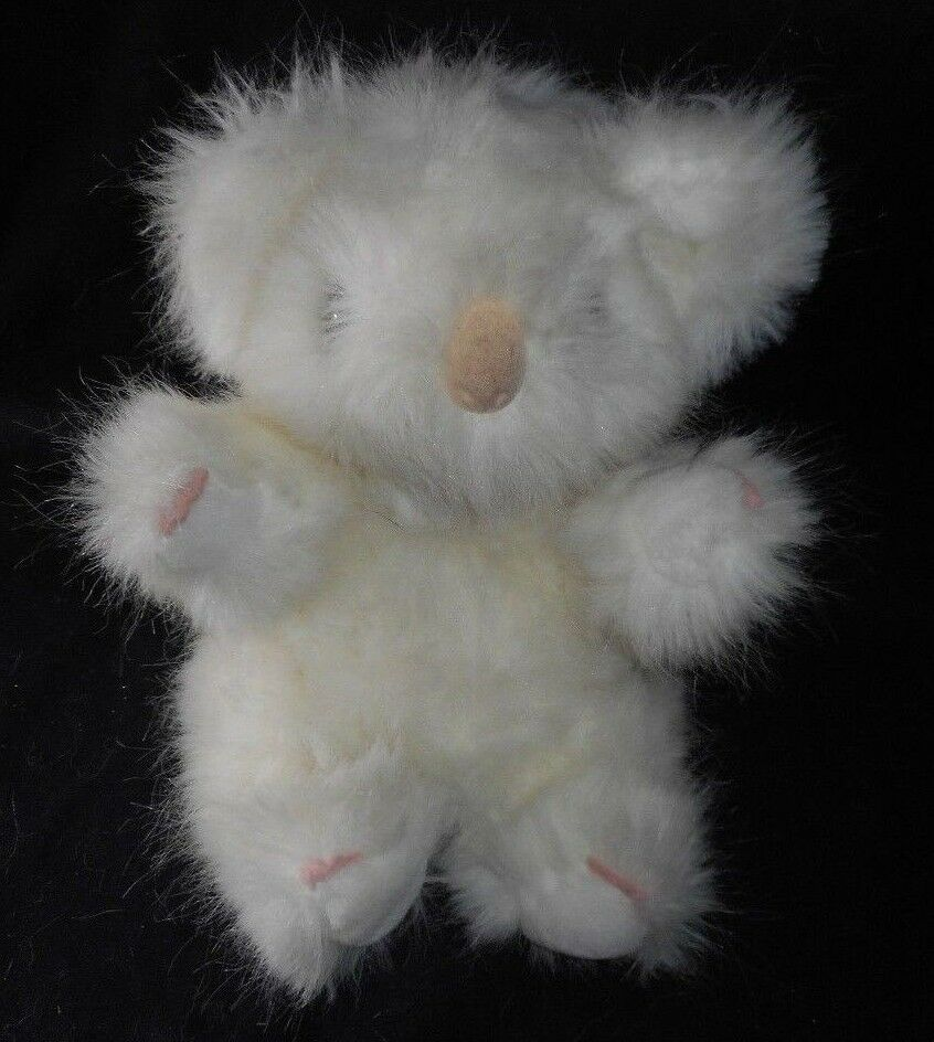 10  VINTAGE SAN DIEGO ZOO BABY ALBINO KOALA KOALA KOALA TEDDY BEAR STUFFED ANIMAL PLUSH TOY 9284d3