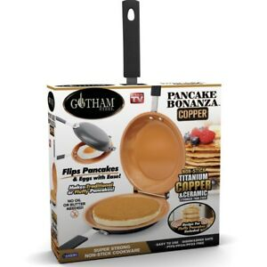 Gotham Steel Pancake Bonanza - The Fast and Easy Way to Make Delicious Pancakes!